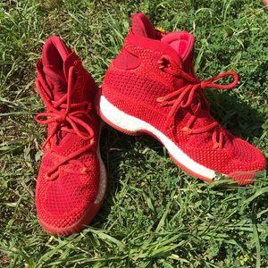 "Red Adidas ""crazy explosives"""